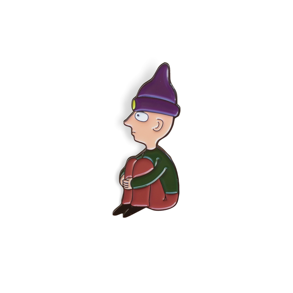 Robin (Radiohead) Enamel Pin - Spoke Art