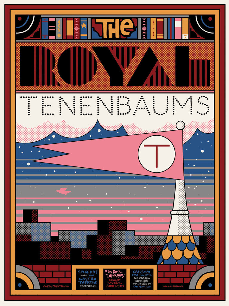 "Sam Smith - ""The Royal Tenenbaums"" - Spoke Art"