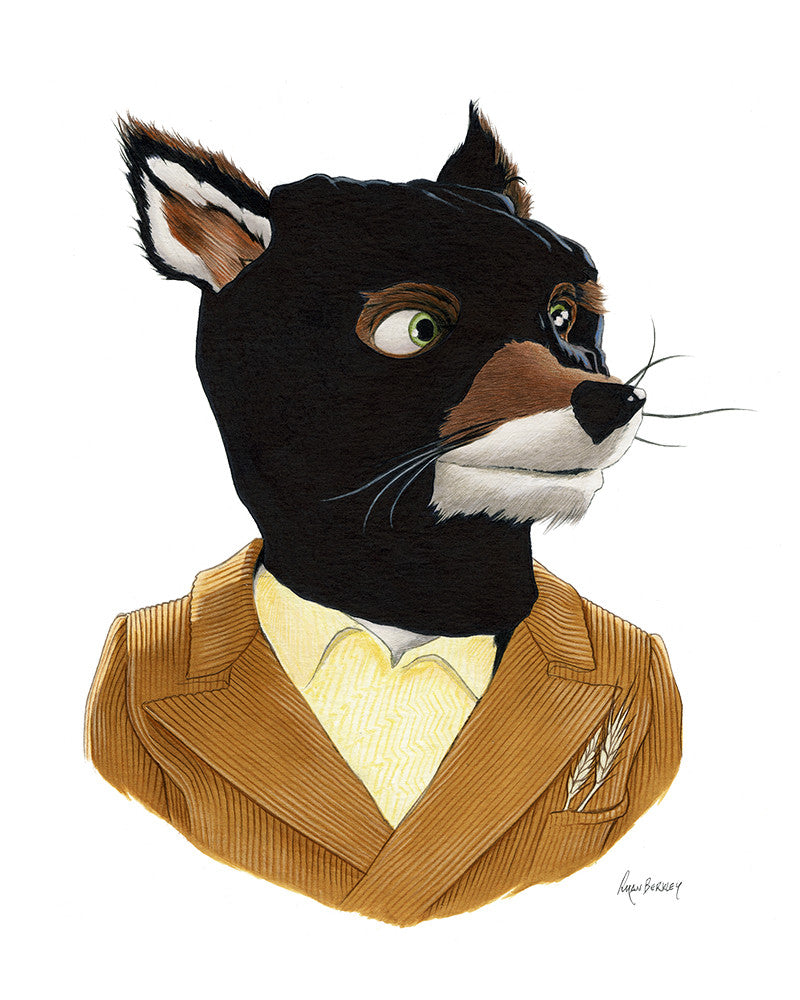 "Ryan Berkley - ""Bandit Mask 1 (Mr. Fox)"""