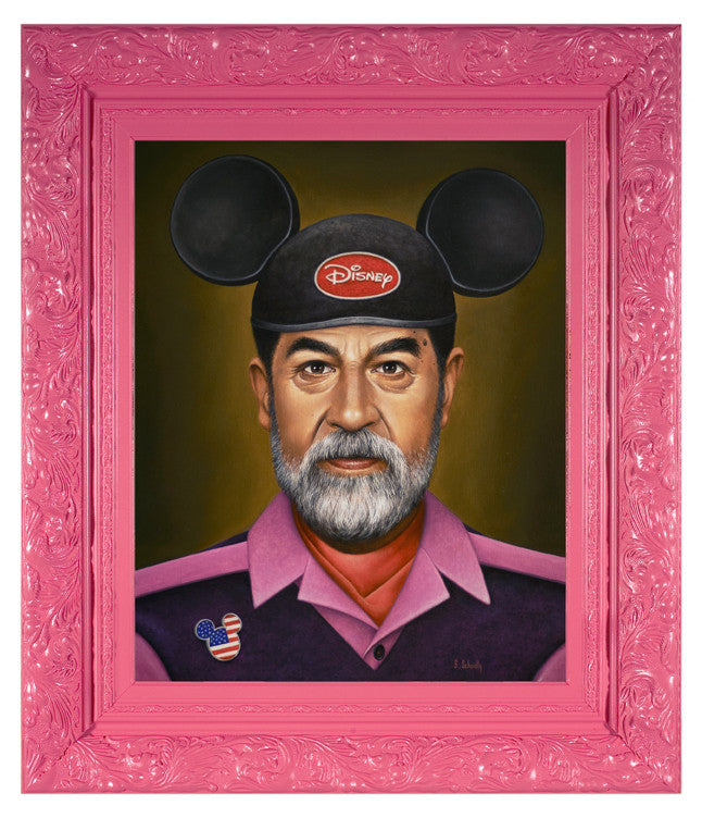 """Saddam Goes to Disney"""