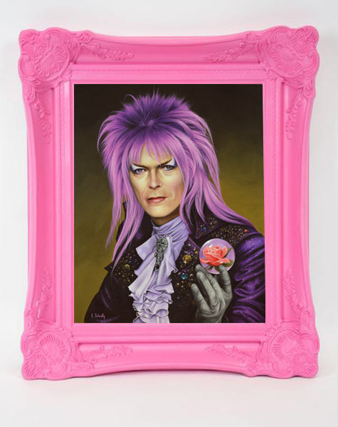 "Scott Scheidly - ""The Goblin King"" (print) - Spoke Art"