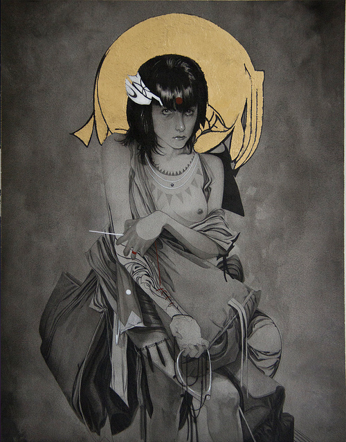 "Nimit Malavia - ""Sewing Sacrifice"" - Spoke Art"