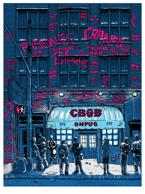 "Tim Doyle - ""CBGB"" - Spoke Art"