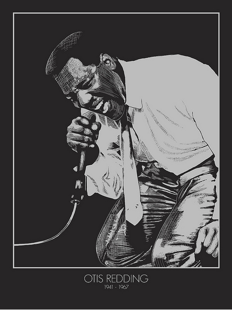 "New Flesh - ""Otis Redding"" - Spoke Art"