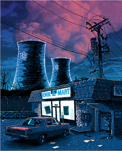 "Tim Doyle - ""Night Falls on the SNPP"" - Spoke Art"