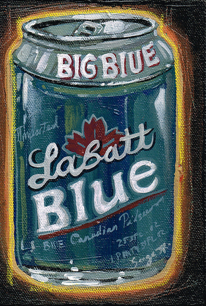 "Serge Gay Jr. - ""Blue Beer"""