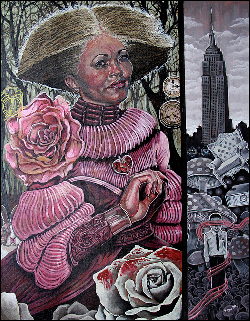 "Serge Gay Jr. - ""Queens of Hearts"" - Spoke Art"