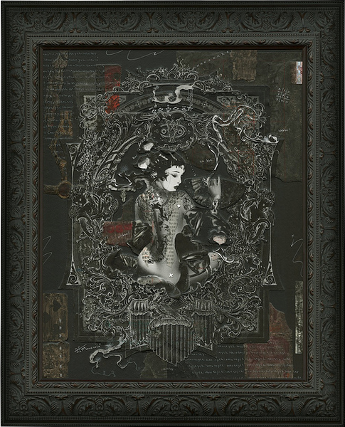 "Handiedan - ""Broken Geisha No. 3"""