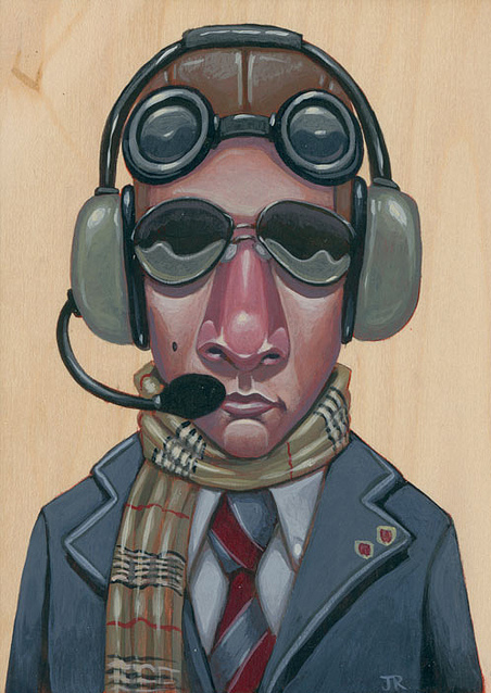 "Jesse Riggle - ""Piper Cub Club"" - Spoke Art"