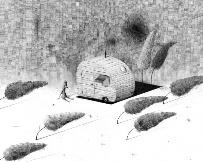 "Jonas Lofgren - ""Camping"" - Spoke Art"