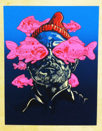 "Tim Doyle - ""He Is The Zissou"" - Spoke Art"