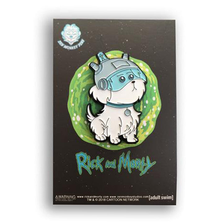 Snowball - Rick And Morty Enamel Pin