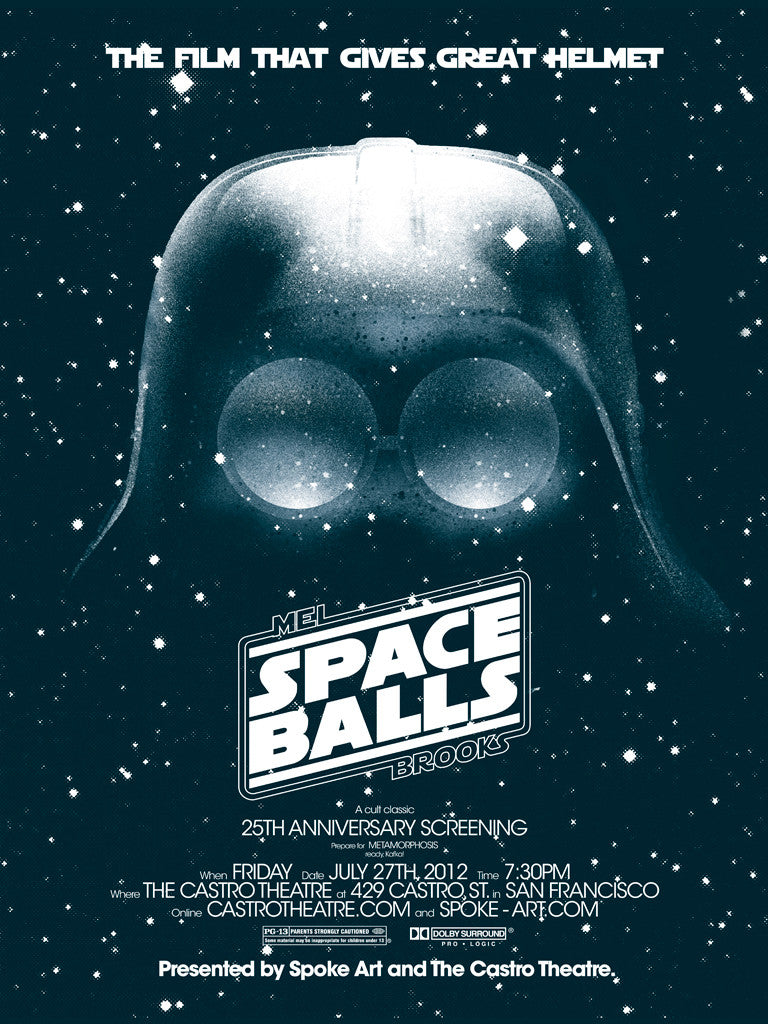 "Brandon Schaefer - ""SpaceBalls"" - Spoke Art"