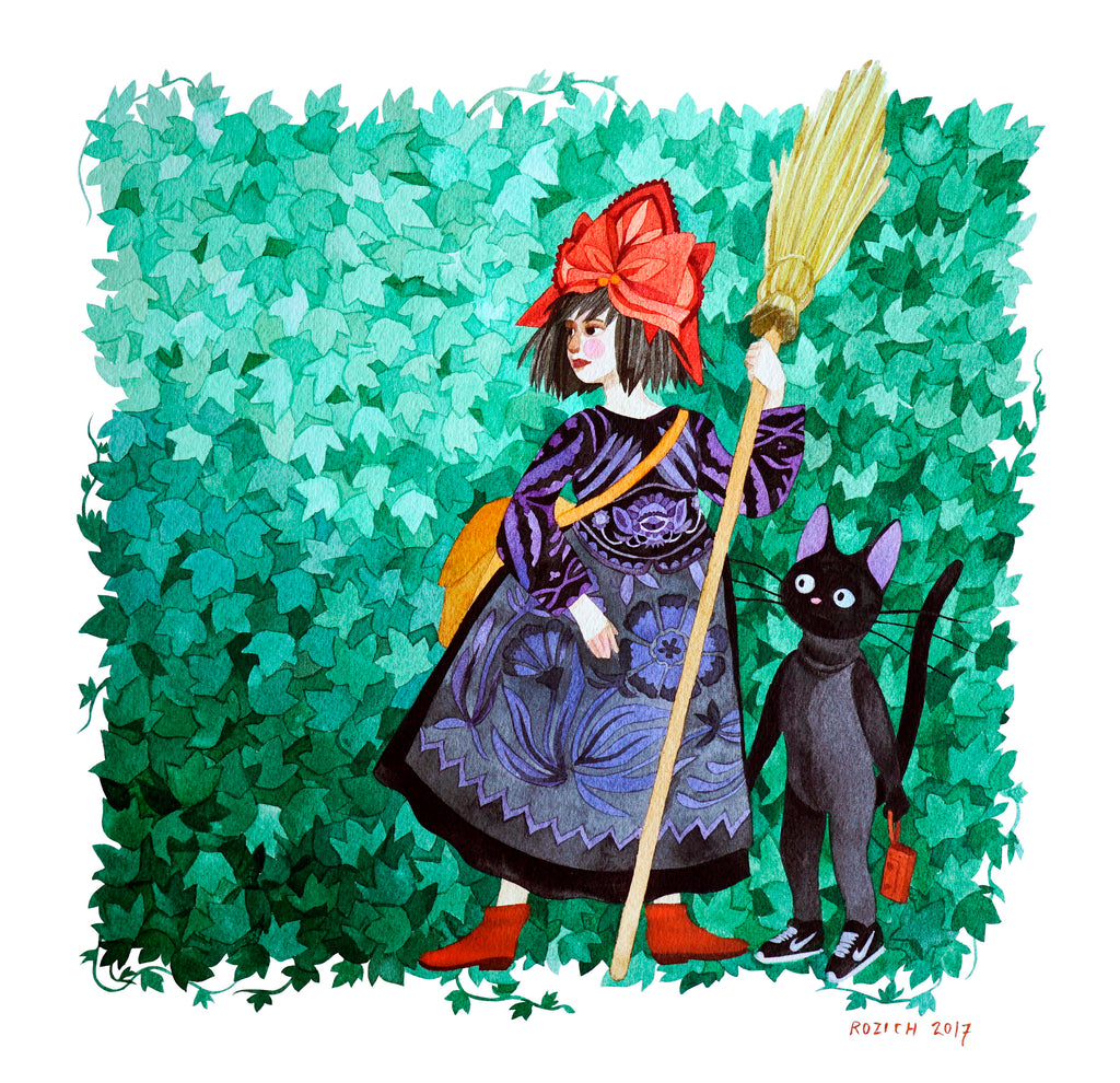 "Stacey Rozich - ""Kiki's Yardwork Service"" - Spoke Art"