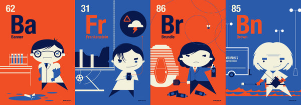 "Tom Whalen - ""Periodic Table Flash Cards"""