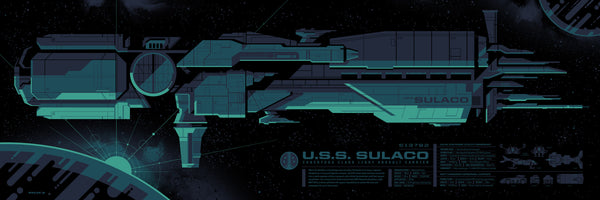 "Tom Whalen - ""Sulaco Spec Sheet"""