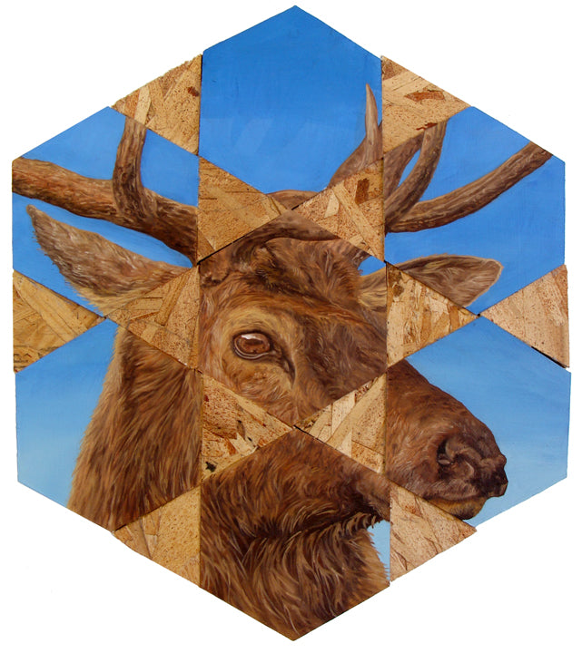 "Peter Adamyan - ""Tule Elk"" - Spoke Art"