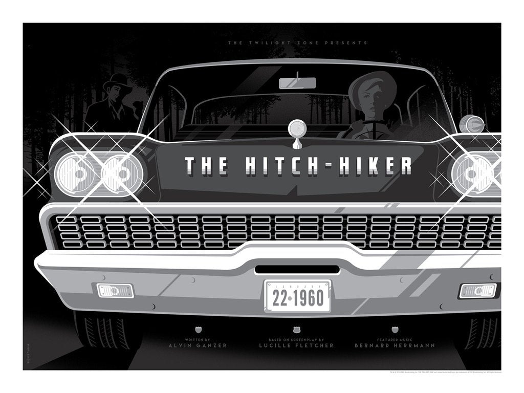 "Tom Whalen - ""The Hitchhiker"" - The Twilight Zone"