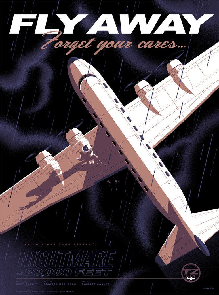 "Tom Whalen - ""Fly Away"" - The Twilight Zone - Spoke Art"