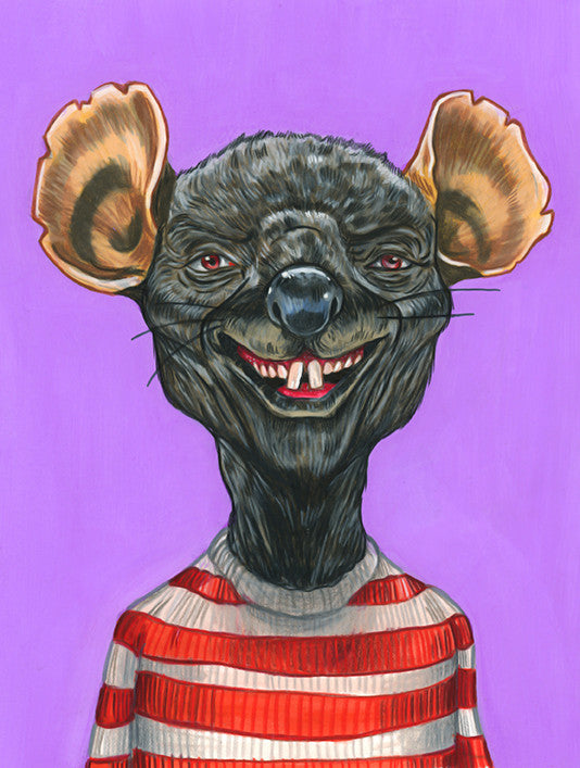 "Cuyler Smith - ""Willem Dafoe as the Rat"""