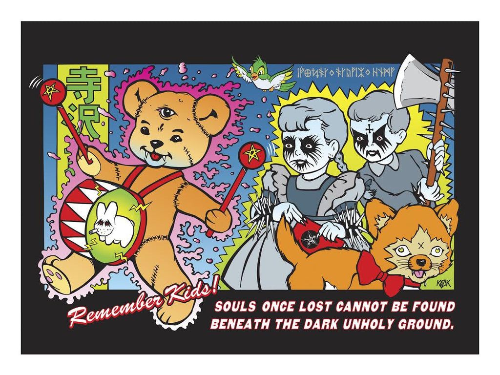 "Frank Kozik - ""Souls Once Lost"" - Spoke Art"