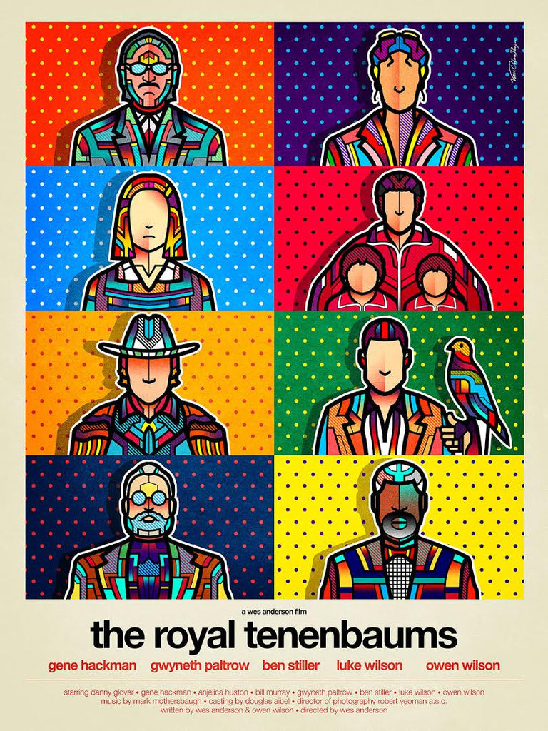 "VanOrton Design - ""The Royal Tenenbaums"""