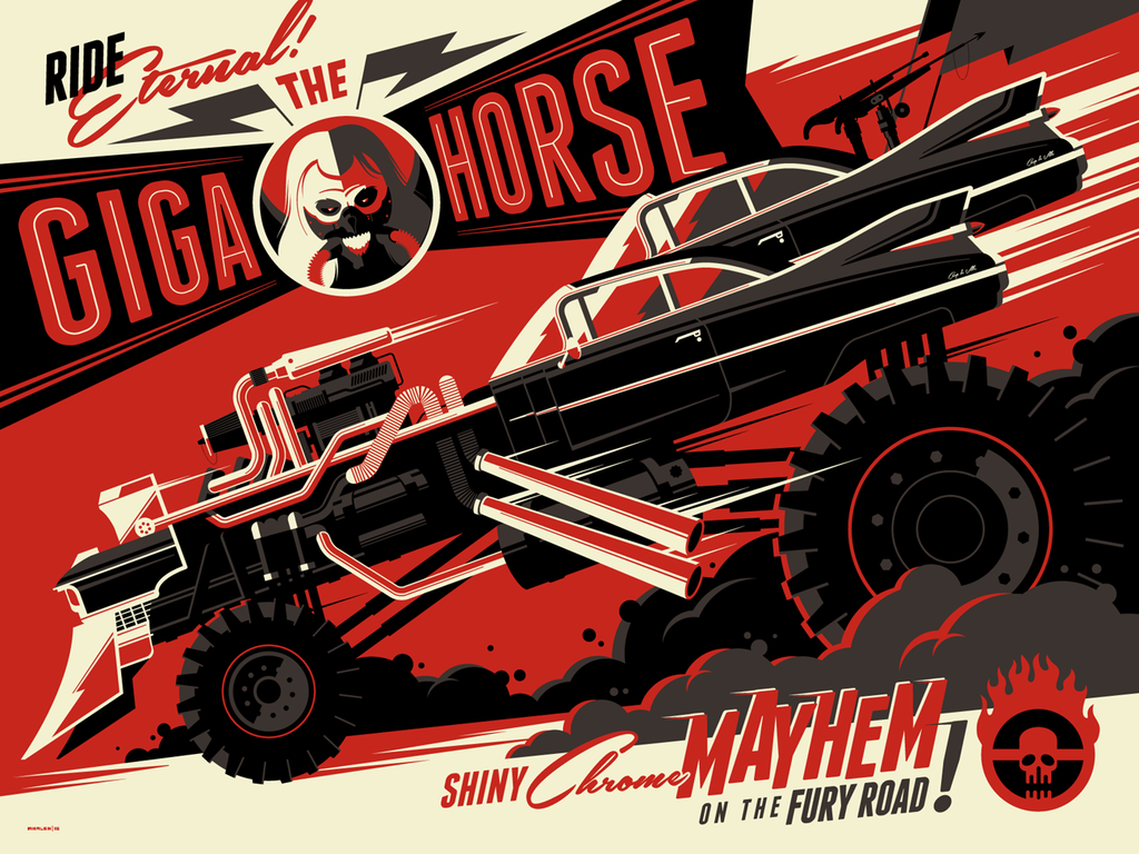 "Tom Whalen - ""The Gigahorse"" - Spoke Art"