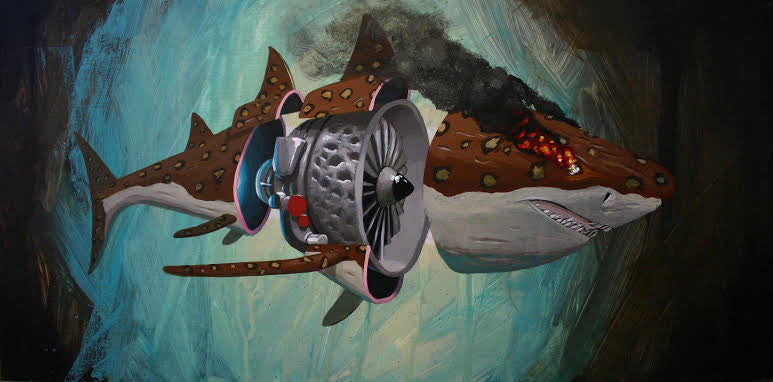 "Robert Bowen - ""Jaguar Shark"" (It Does Remember you, Zissou)"