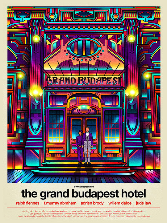 "Van Orton Design - ""The Grand Budapest Hotel"""