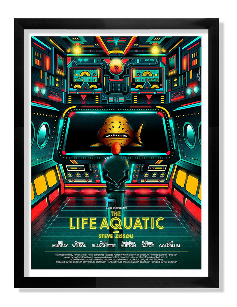 "Van Orton Design - ""The Life Aquatic with Steve Zissou"""
