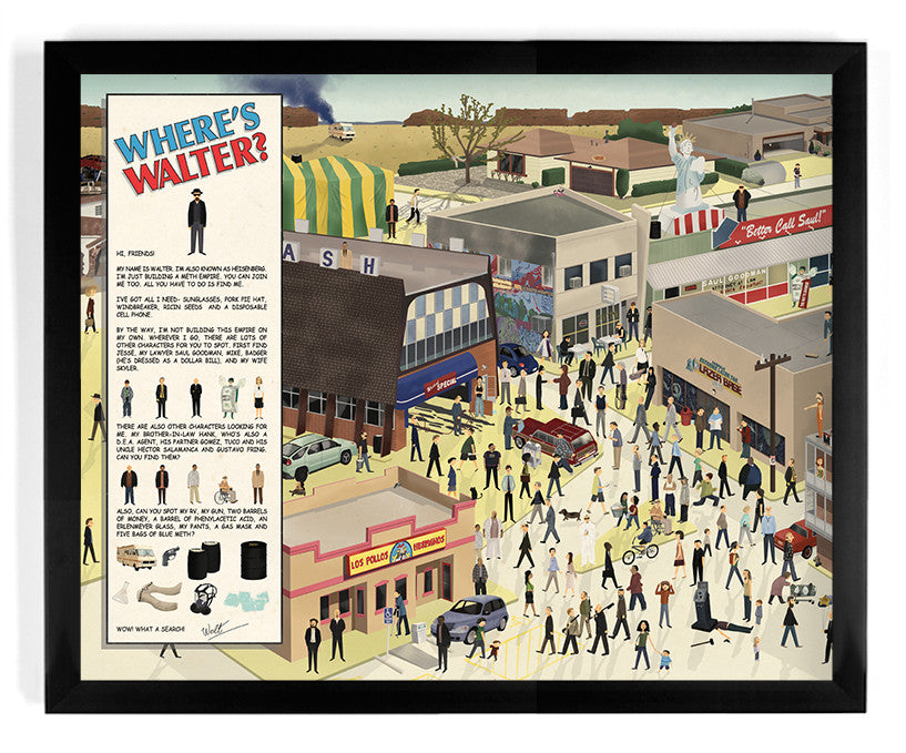 "Max Dalton - ""Where is Walt?"" - Spoke Art"