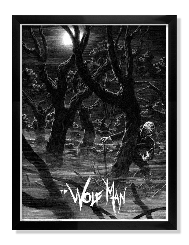"Nicolas Delort - ""The Wolf Man"" - Spoke Art"