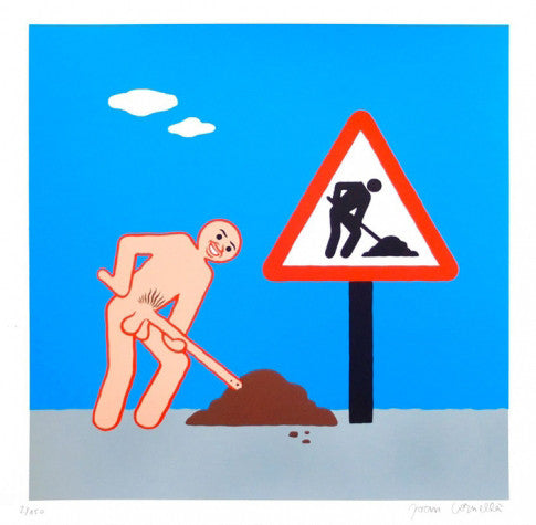"Joan Cornellà - ""Work Sign"""