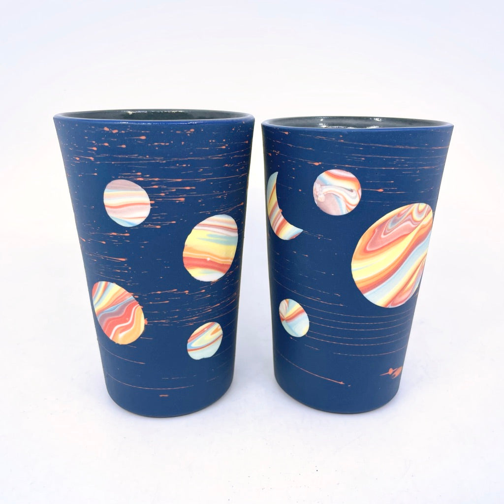 *Preorder* 2021 Cobalt Rainbow Galaxy Insulated Mug **EARTH DAY EXCLUSIVE**