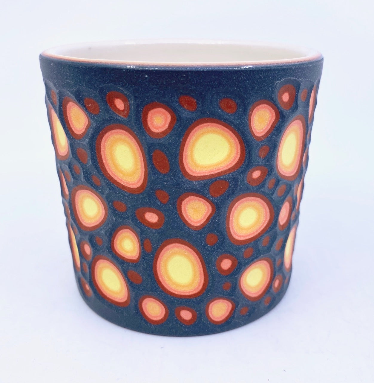Lava Crater Tumbler- 6 Layer Carved