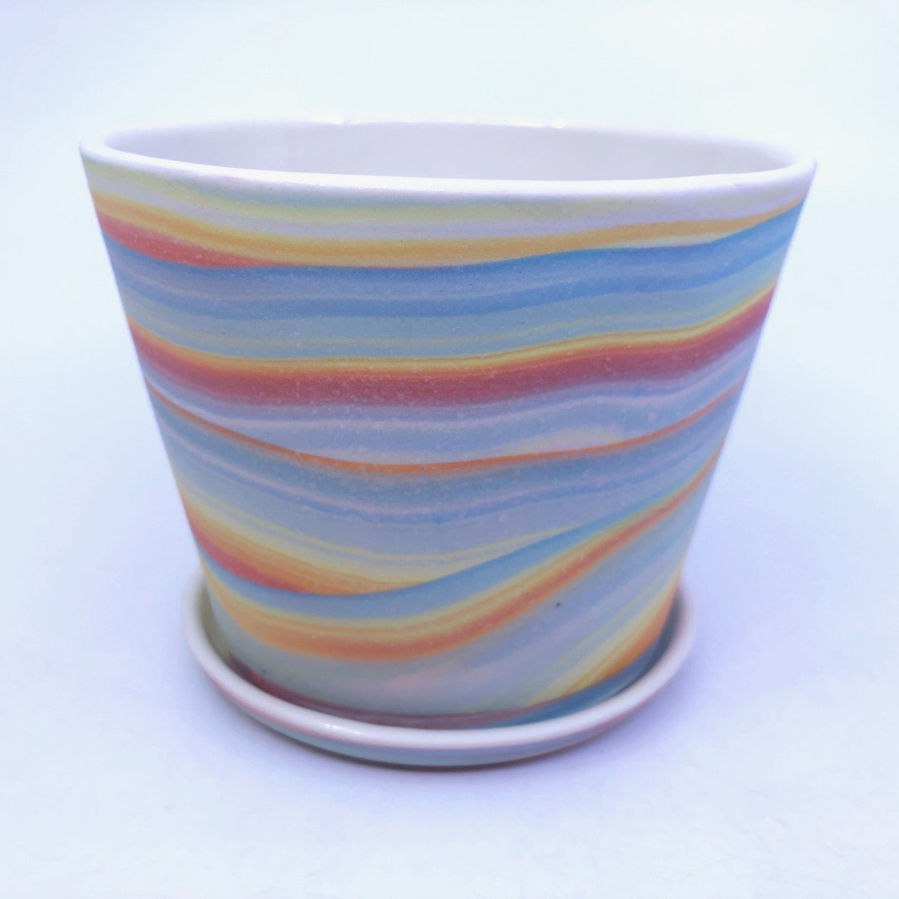 *Preorder* Small Rainbow Strata Planter