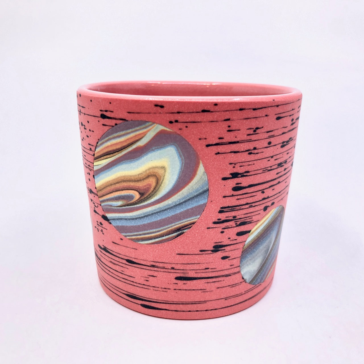 Red Bright-Space Rainbow Galaxy Tumblers **EARTH DAY EXCLUSIVE**