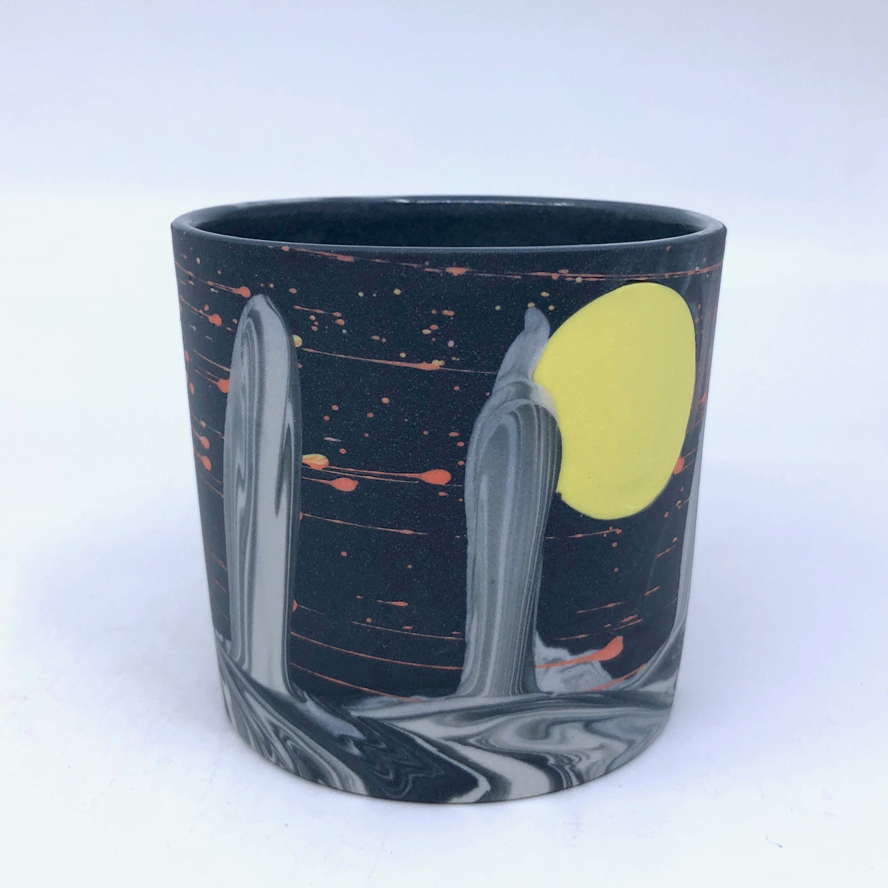 Yellow Moon & Spires Tumbler