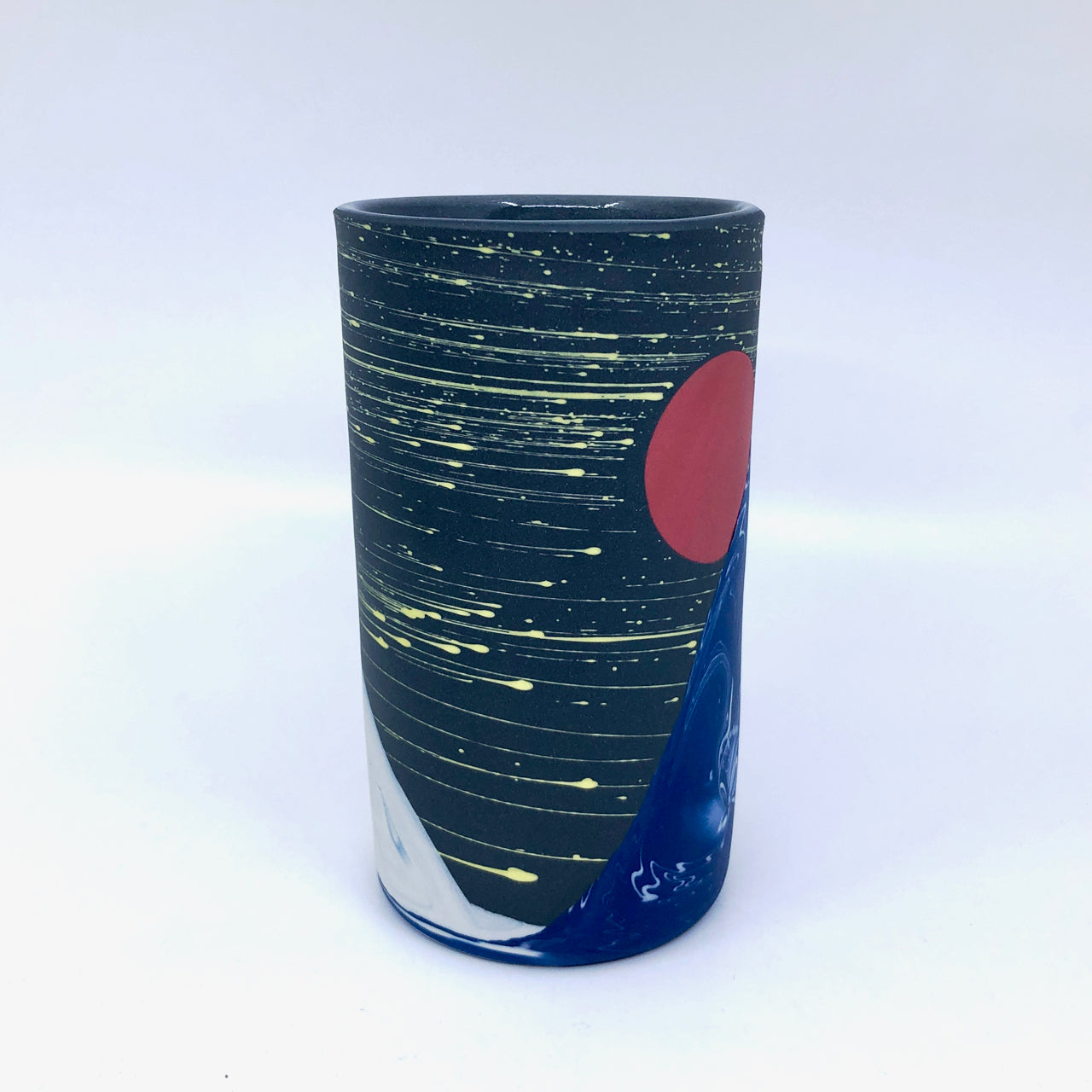 Small Nighwave Column Vase