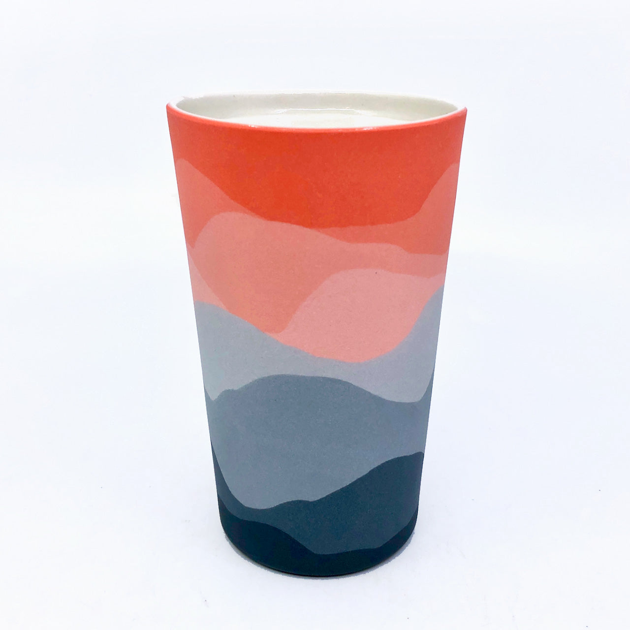 Misty Sunset Horizon Insulated Mug