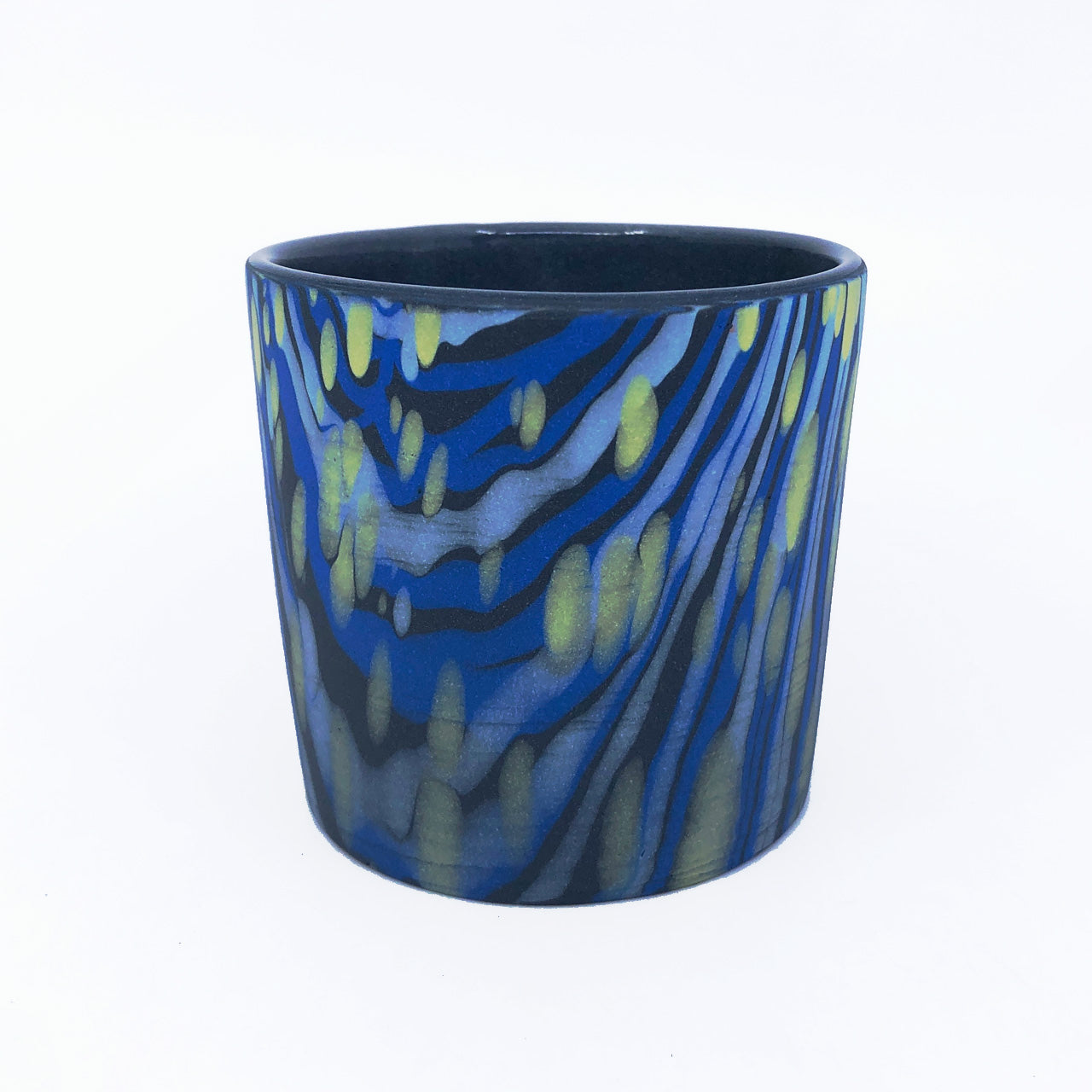 Black & Royal Full Dappled Tumbler