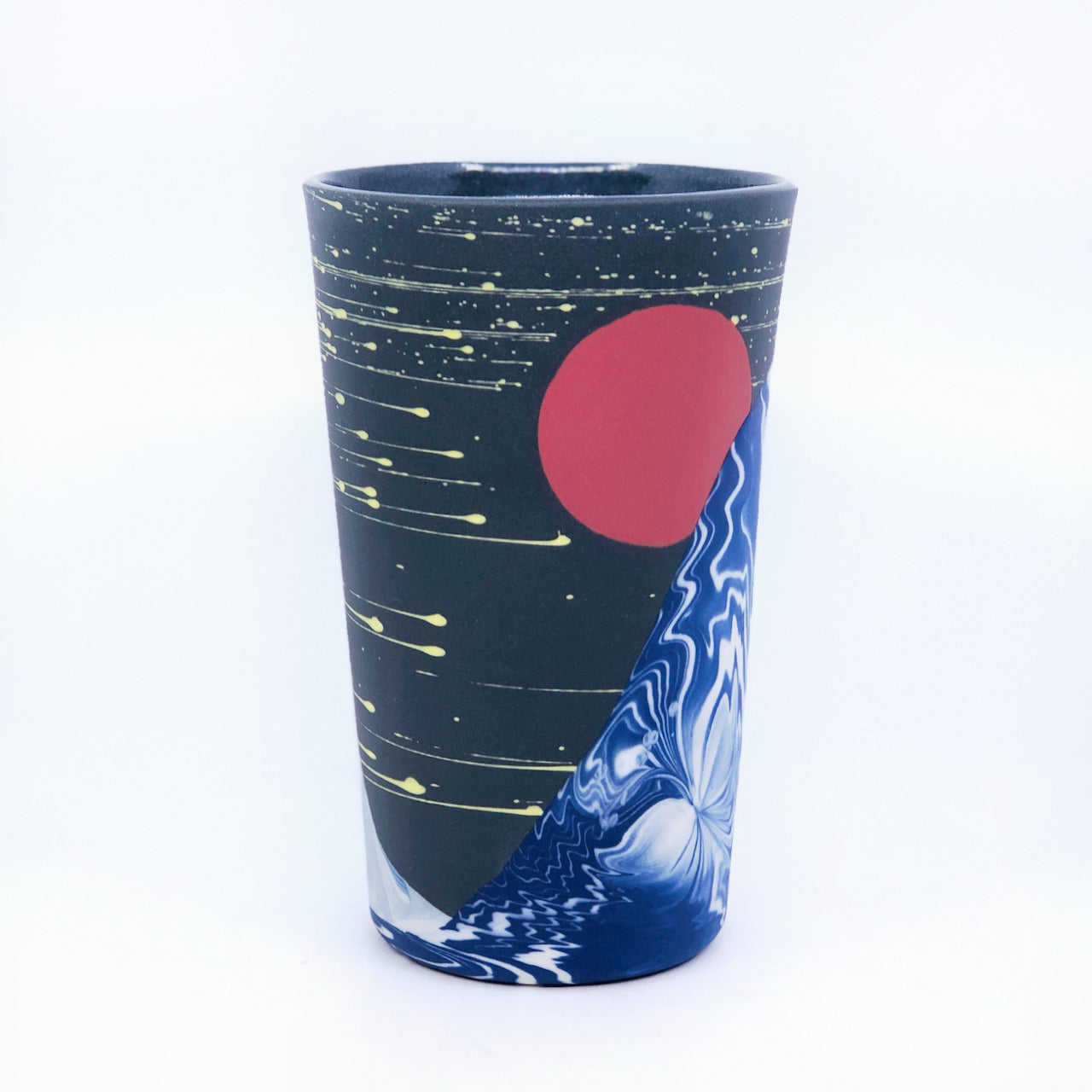 Night Wave Insulated Mug
