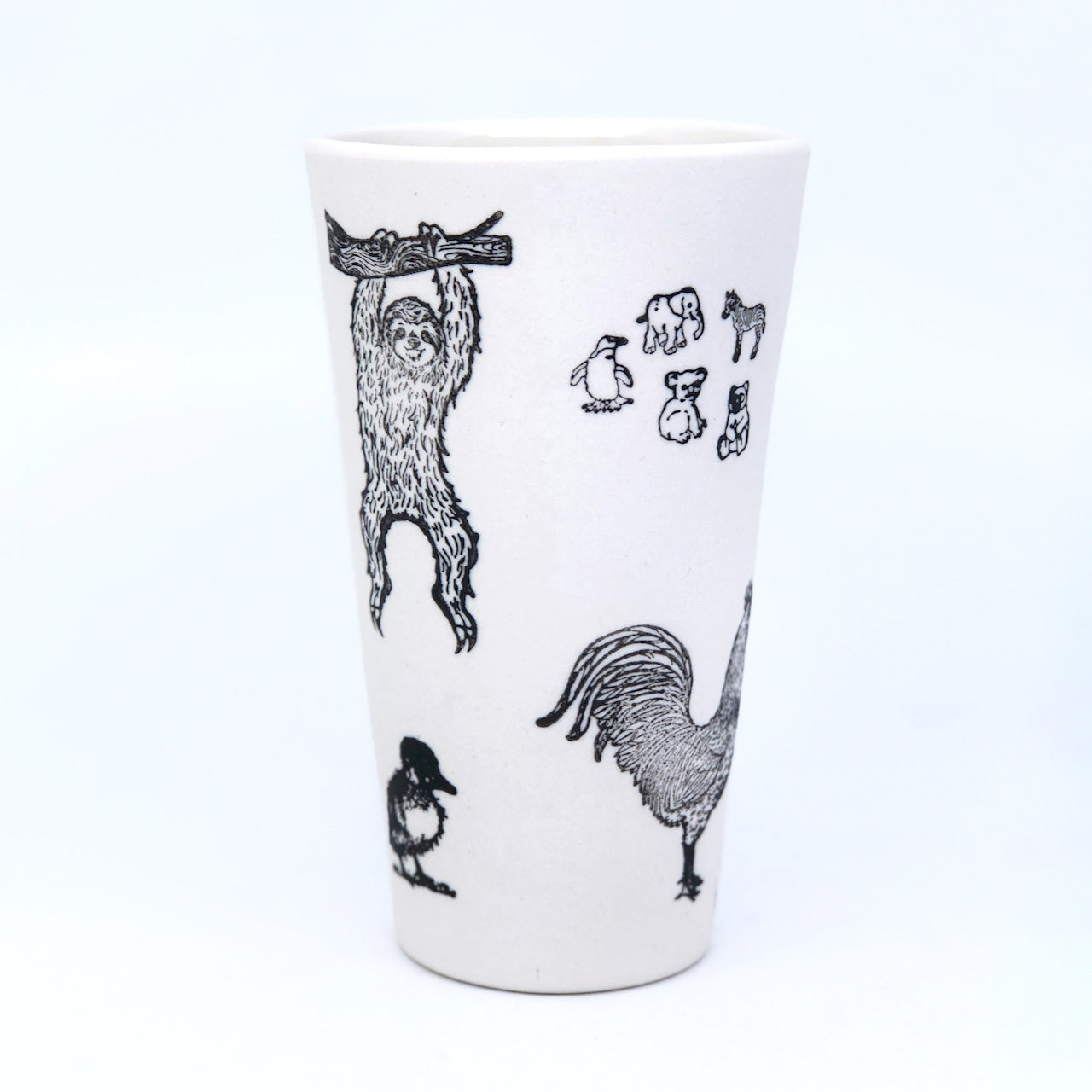 Dino Zoo Stamped Pint