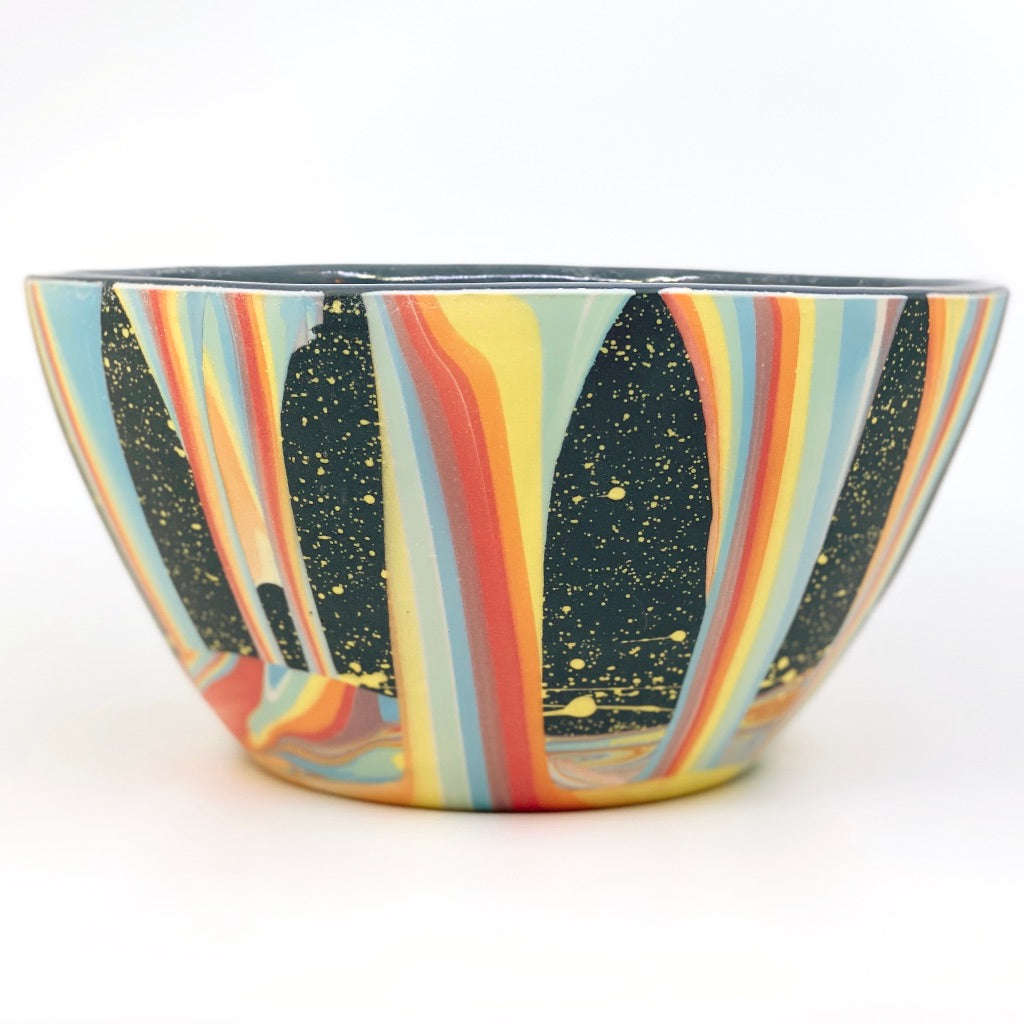 Rainbow Falls Serving Bowl
