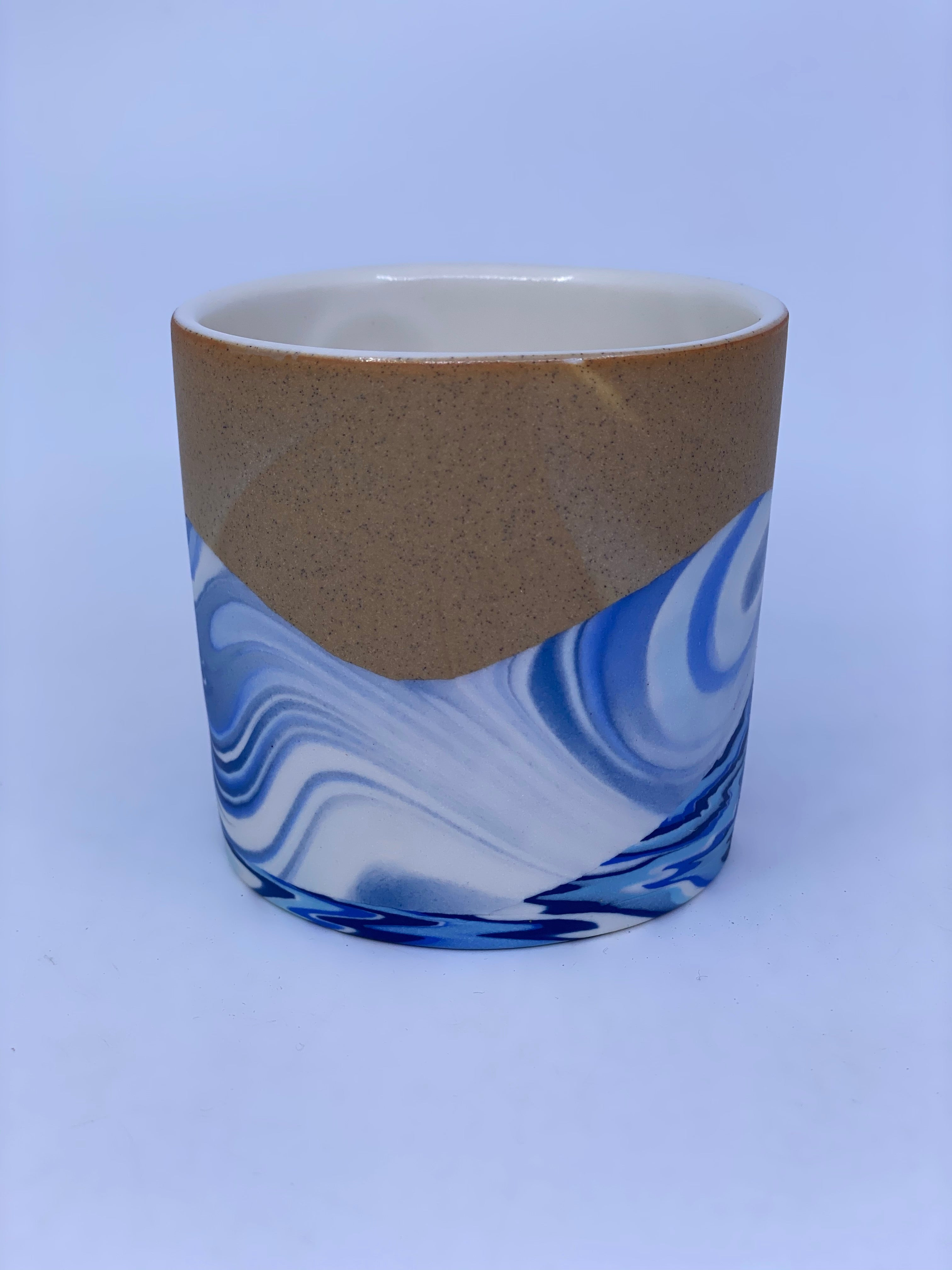 4-Color Wave with Sandy Sunset Tumbler