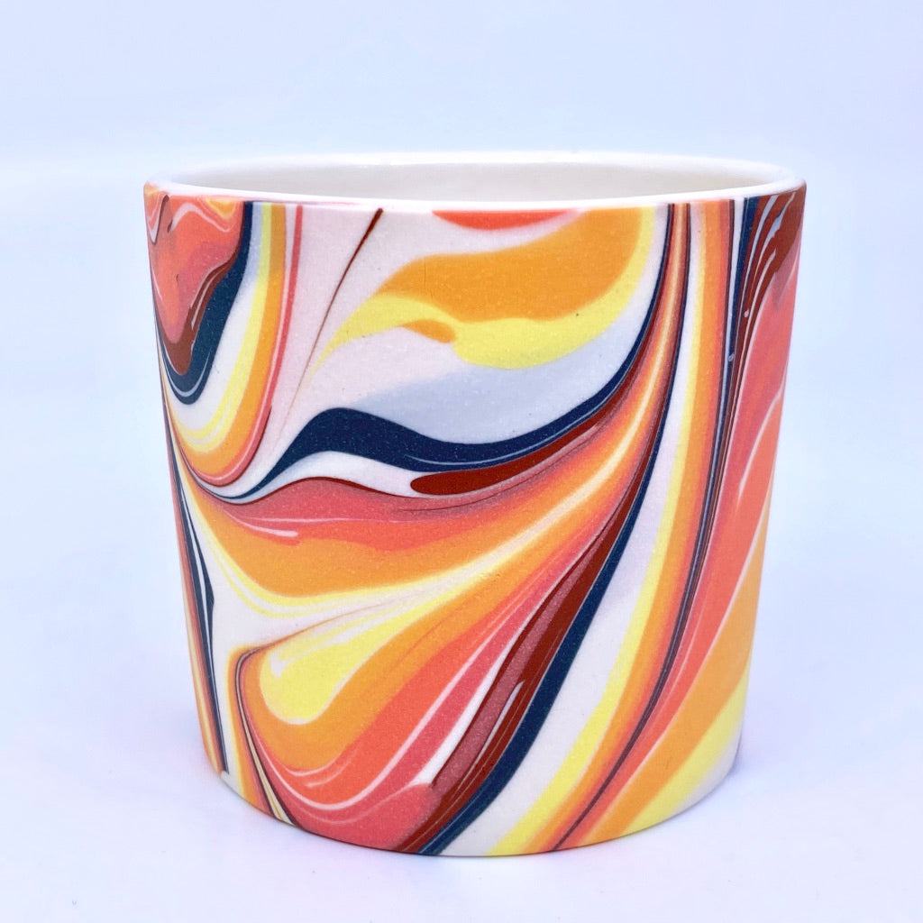 Fire Feathered Tumbler