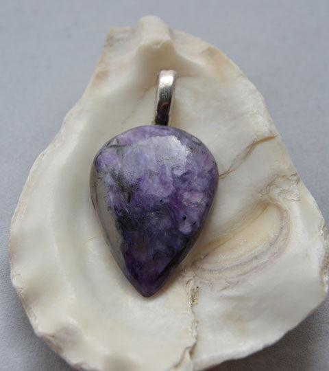 Charoite Pear shape
