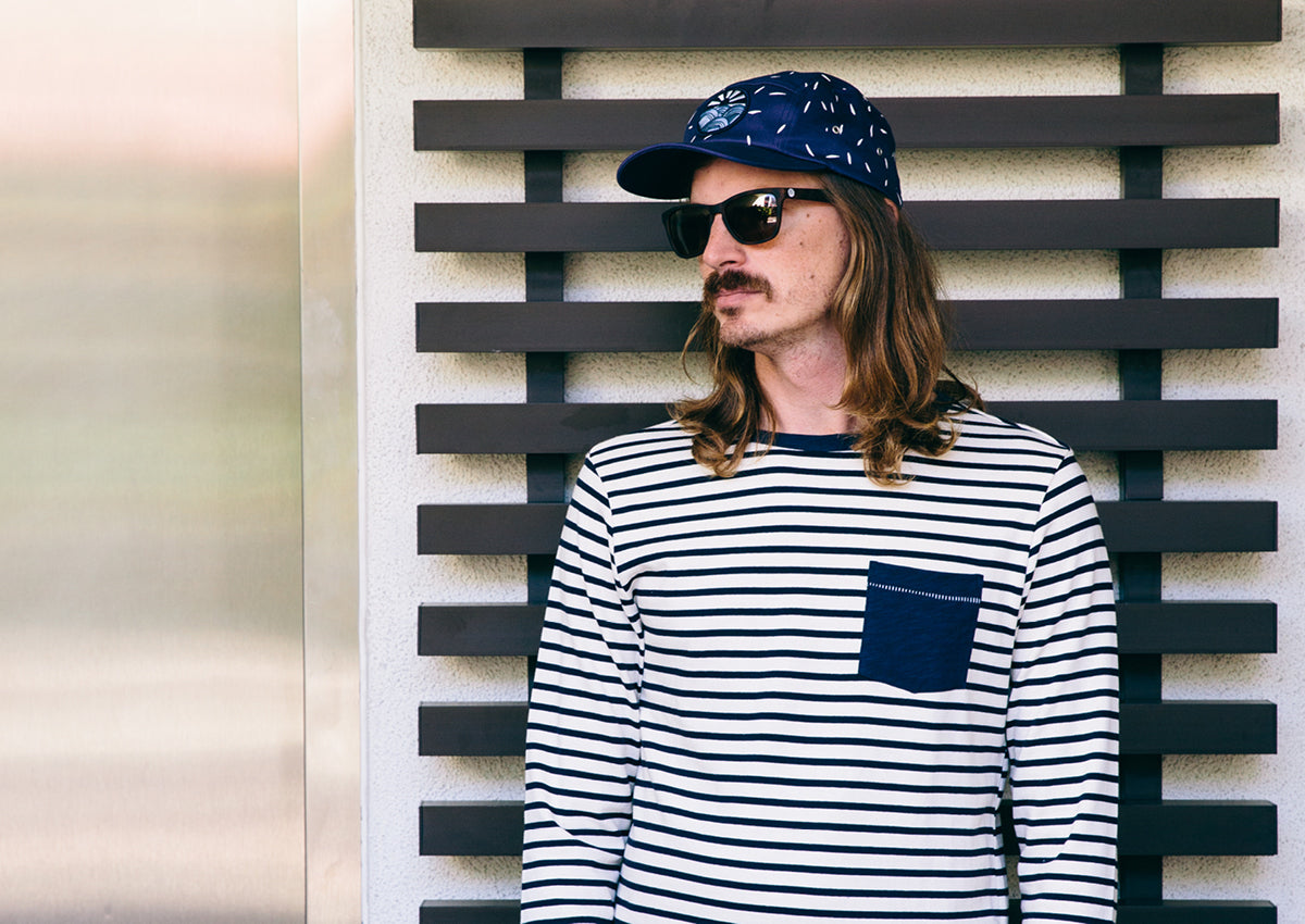 Altru Apparel Spring 1 2016 Lookbook stripes pocket t-shirt