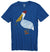 Altru Apparel Pelican with Pipe tee in royal blue