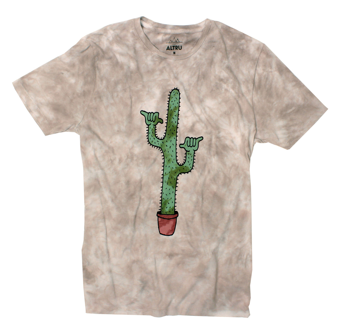 Altru Apparel Shaka Guaro T-shirt shaka cactus shirt